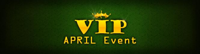 4월 VIP 감사 이벤트